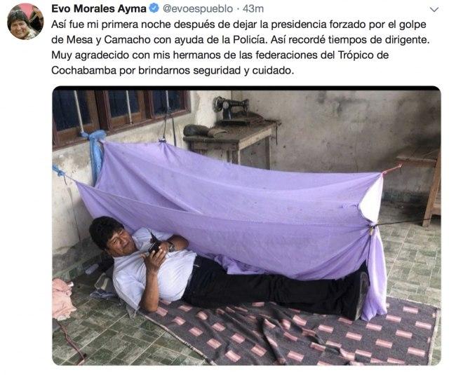 Morales ispod ćebeta, javio se i Maduro