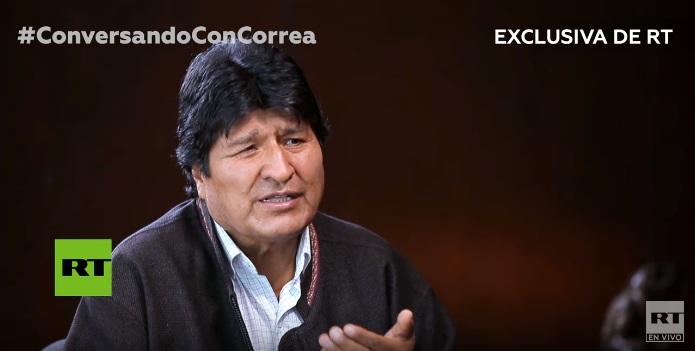 Morales za RT: Litijum podstako puč.. U Boliviji smo mogli definisati cenu litijuma za celi svet