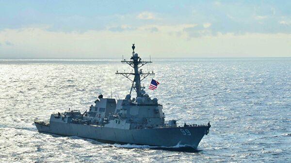"""Moskva: Saopštenje Pete flote SAD o navodnom opasnom približavanju ruskog broda razaraču """"Faragut"""" nije tačno"""