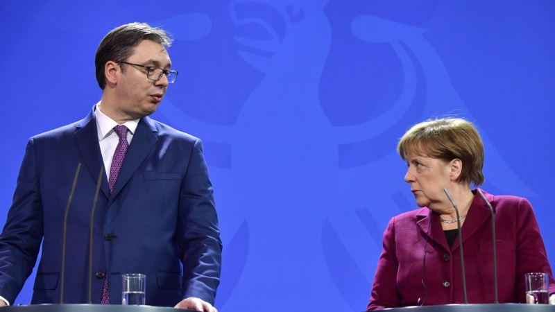 Most: Zašto je Vučić pao u nemilost Angele Merkel?