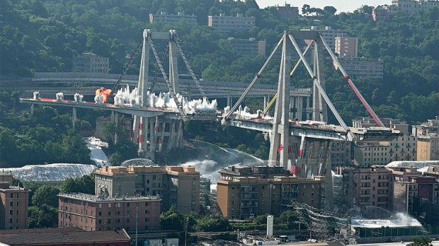 Most koji se srušio u Đenovi nije održavan 25 godina