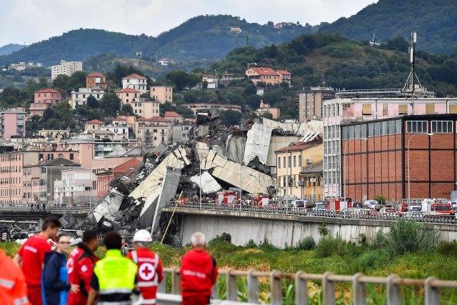 Most u Đenovi srušio i vlasnika Benetona