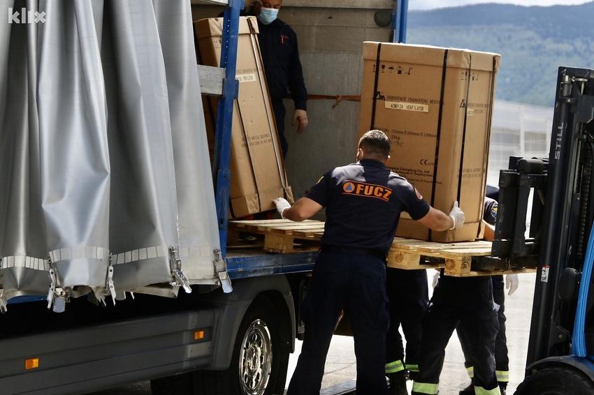 """Mostar odbio respiratore koje je uvezla """"Srebrena malina"""""""