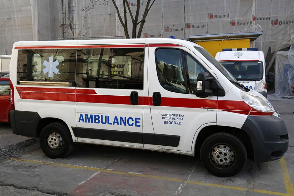 Motociklista teško povređen u centru Beograda