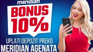 Može i od kuće – Pozovi Meridian agenta i osvoji 10% bonusa