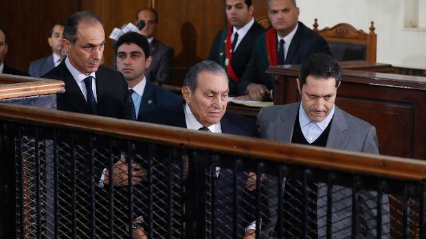 Mubarakovi sinovi ponovo oslobođeni
