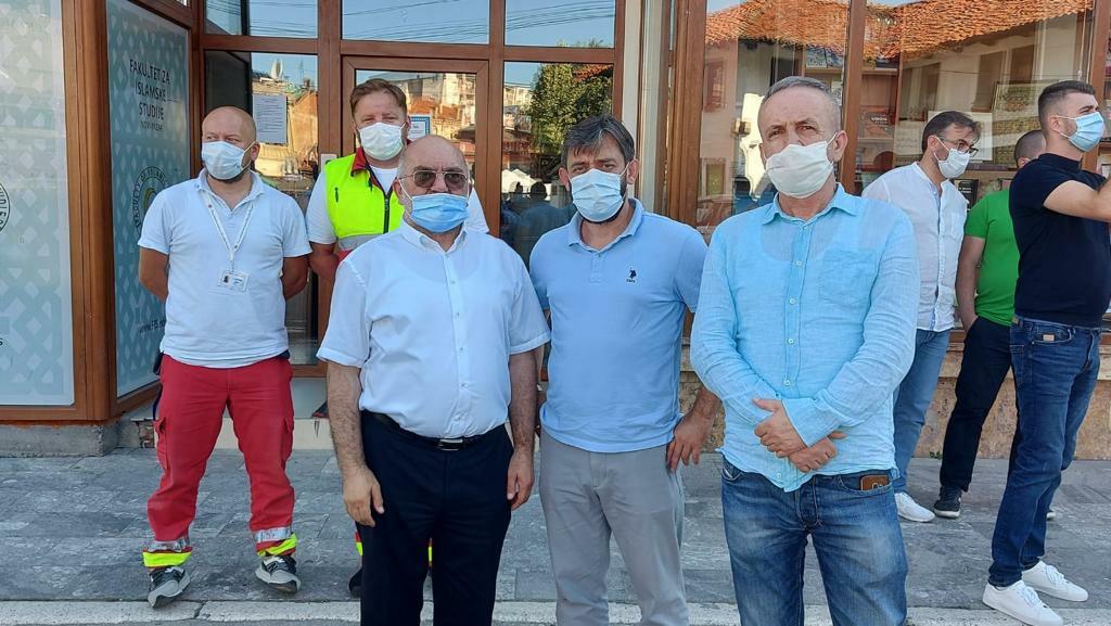Muftija Dudić dočekao ljekare iz Bosne – Ponosni smo što je naš apel urodio plodom