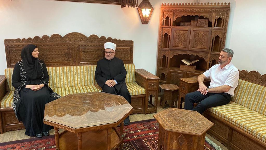 Muftija Dudić primio narodnu poslanicu Pramenković