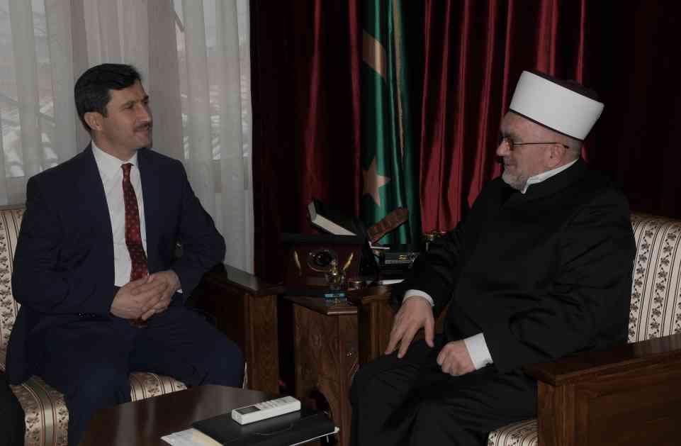 Muftija Dudić primio turskog diplomatu