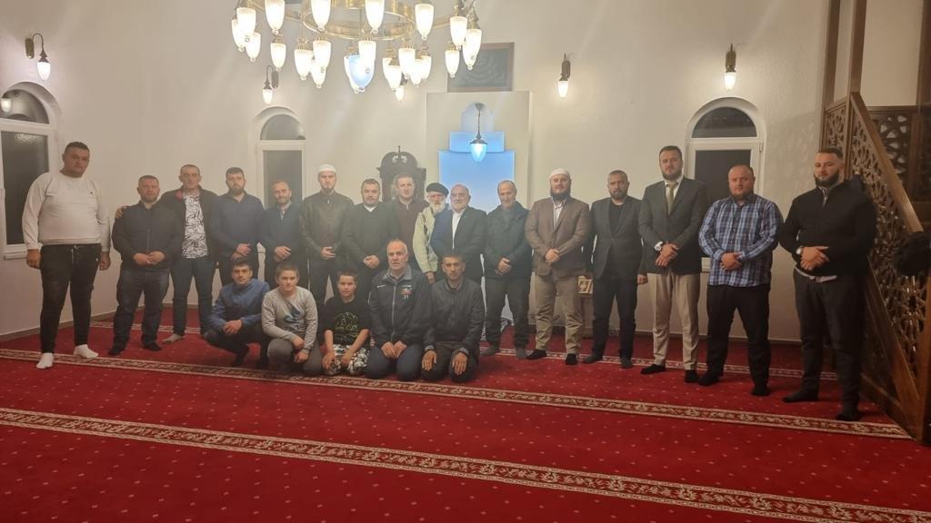 Muftija Dudić u posjeti Medžlisu Sjenica