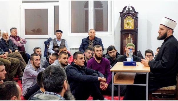Muftija Kujević održao predavanje u džematu Rajčinoviće