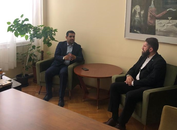 Muftija sandžački posjetio dr. Ferida Bulića u Ministarstvu pravde