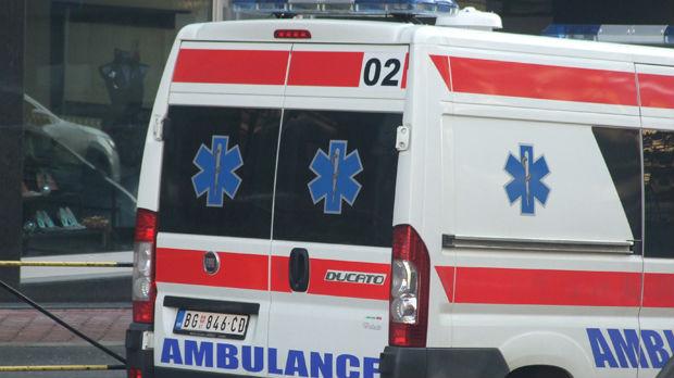 Muškarac teže povređen u saobraćajnoj nesreći