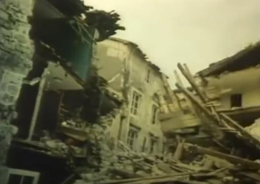 NA DANAŠNJI DAN CRNU GORU JE OPUSTOŠIO RAZORAN ZEMLJOTRES: Život izgubila 101 osoba, osetio se širom SFRJ VIDEO
