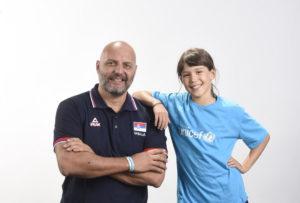 NA LITVANCE SVI U PLAVOM Košarkaši Srbije se spremaju za Mundobasket, a pripremna utakmica u znaku HUMANOSTI