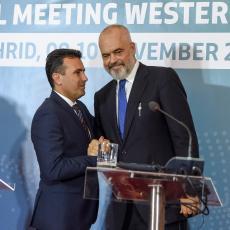 NA POMOLU NOVO BRATSTVO? Zaev pozvao Makedonce u Albaniji da glasaju za Ramu
