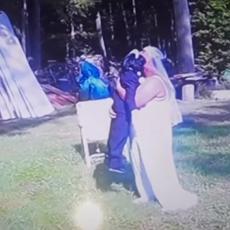 NAJBOLESNIJE VENČANJE IKADA! Kada vidite za KOGA se udala ova žena, POZLIĆE VAM! (VIDEO)
