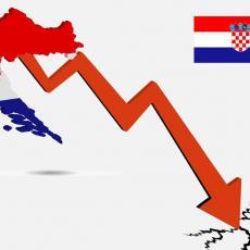 NAJGORI U EVROPI: Imaju dvostruko veći pad od proseka, još jedan pokazatelj da je HRVATSKA EKONOMIJA NA IZDISAJU
