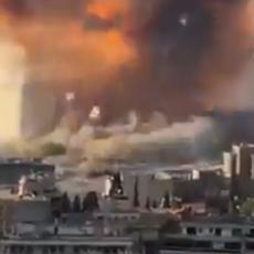 NAJJEZIVIJI SNIMAK IZ BEJRUTA: Snimao strašnu eksploziju, a onda ga je pokosio udarni talas! (VIDEO)