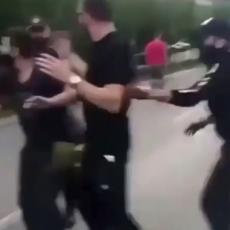 NAJNOVIJE LUDILO KOMITA: Auto-kolone u više gradova, a zatim OPASAN incident u Podgorici sa policijom (VIDEO)