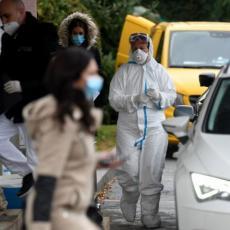 NAJNOVIJI PODACI MINISTARSTVA ZDRAVLJA: Registrovano još 341 pozitivnih na korona virus, preminula jedna osoba