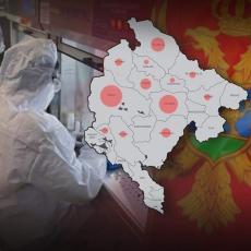 NAJNOVIJI PODACI ZA CRNU GORU: Poznato gde su najveća žarišta korona virusa