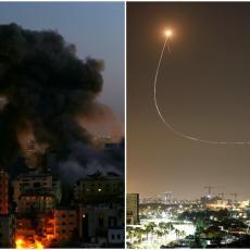 NAJVEĆE RAKETIRANJE SA KOJIM SE IZRAEL SUSREO U ISTORIJI: Hamas ispalio 3.100 projektila, gvozdena kupola u nebranom grožđu