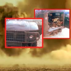 NAPADNUTA RUSKA VOJSKA! Eksplozija se videla KILOMETRIMA, odmah uzleteli BORBENI HELIKOPTERI (VIDEO)