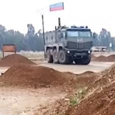 NAPETO NA SEVERU SIRIJE: Ruski vojnici zauzimaju položaje, imaju samo jedan cilj (VIDEO)