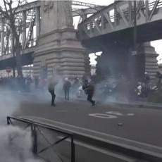 NAPETO U PARIZU: Izbili sukobi na skupu podrške Palestini (VIDEO)