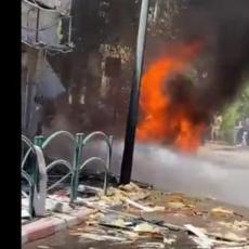 NAPETOST NE PRESTAJE DA RASTE! Izrael objavio snimke udara na još desetak ciljeva Hamasa u pojasu Gaze (VIDEO)