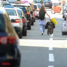 NASTAVLJA SE LUDILO NA ULICAMA BEOGRADA: Taksisti danas radikalizuju štrajk!