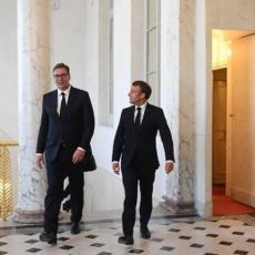 NASTAVLJAJU SE RAZGOVORI U PARIZU: Predsednik Vučić danas učestvuje na video-konferenciji sa Makronom i Merkel