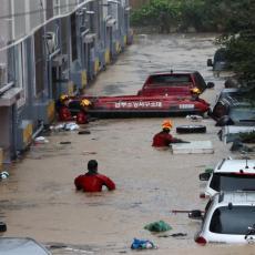 NASTRADALO VIŠE LJUDI, HILJADE UGROŽENO POPLAVAMA: Ova država se bori sa neverovatnim padavinama