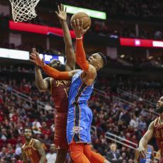 NBA: Džordž je ubacio 45 poena, Harden 42, ali ZVEZDA večeri je ipak Vestbruk (VIDEO)