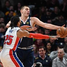 NBA: Jokić s pola gasa UNIŠTIO Detroit! SILNI Bogdan SRUŠIO Ratnike, Bjelica podbacio (VIDEO)