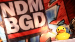NDMBGD: Fašistički grafiti na zgradi kulturnog centra