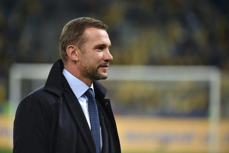 NE DOLAZE TURISTIČKI U BEOGRAD! Ševčenko: Igraćemo maksimalno ozbiljno protiv Srbije!