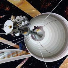 (NE) IDEMO NA MARS: Lebdeći disk sa cilindrima za 50.000 ljudi budućnost selidbe u svemir (FOTO/VIDEO)