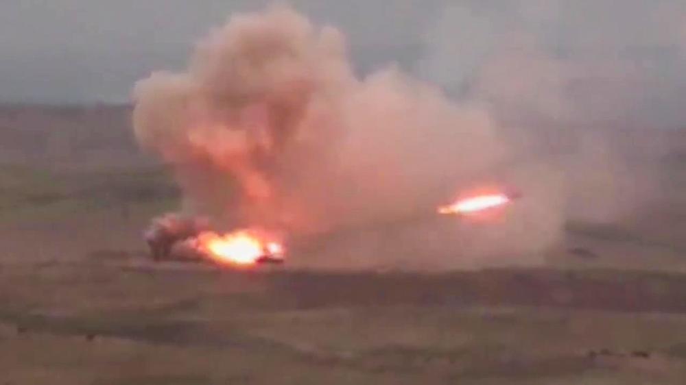 NE PRESTAJU SUKOBI U NAGORNO-KARABAHU: Jermenske snage oborile helikopter Azerbejdžana, letelica pala na teritoriju Irana