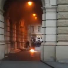 NE SMEMO DA DOZVOLIMO DALJU ESKALACIJU NASILJA: Miloš Vučević osudio paljenje Gradske kuće (VIDEO)