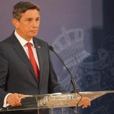 NE VERUJEM U MIRNE PROMENE GRANICA NA BALKANU Borut Pahor se protivi novom iscrtavanju karte regiona