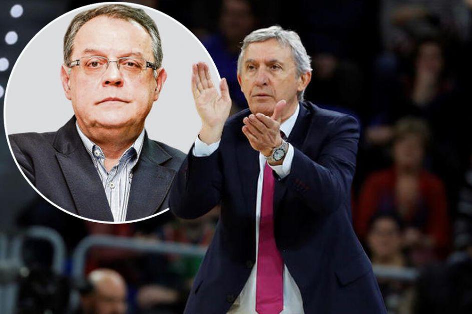 NEBOJŠA ČOVIĆ NEMA DILEMU: Prvi čovek Crvene zvezde zdušno podržao izbor KARIJA PEŠIĆA za selektora srpskih košarkaša!