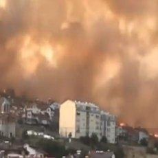 NEĆETE OSTATI SAMI U TEŠKIM TRENUCIMA: Srpski helikopteri pomagali u gašenju požara u Makedoniji