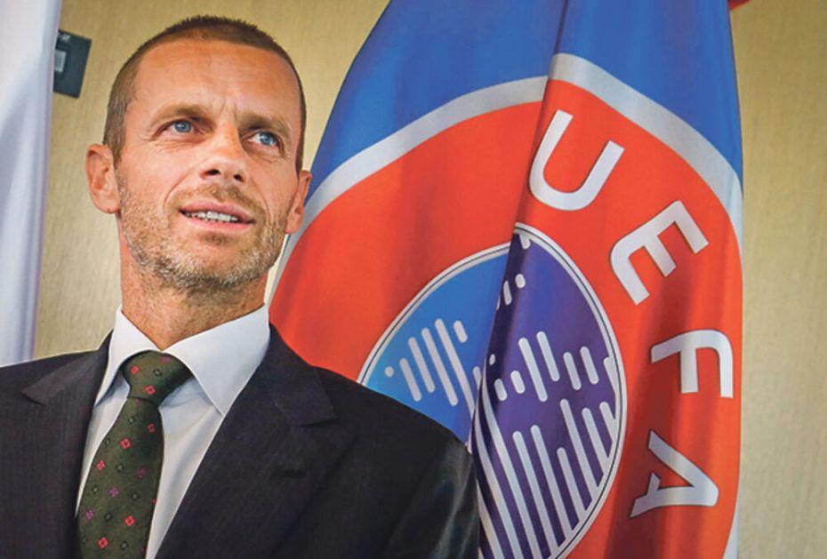 NEĆETE VEROVATI KOLIKU PLATU IMA ČEFERIN U UEFA: Slovenac je prošle godine zaradio 2.200.000 evra!
