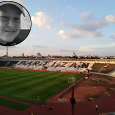 NEKA TE ANĐELI ČUVAJU: Partizan se još jednom oprostio od Isaije, ovog puta čituljom (FOTO)