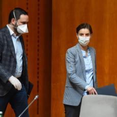 NEMA MESTA PANICI I BRIZI: Premijerka objasnila zbog čega Srbija beleži porast zaraženih