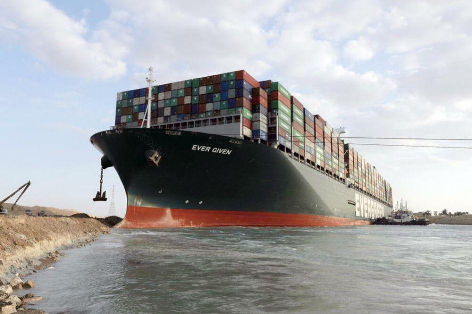 NEMA MRDANJA DOK DEBELO NE PLATI: Egipat zaplenio brod koji je blokirao Suecki kanal! Traže odšetu od 916 MILIONA dolara!
