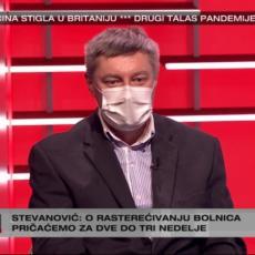 NEMA OTPORNIH NA KORONU! Dr Stevanović se hitno obratio građanima Srbije UŽIVO U PROGRAMU