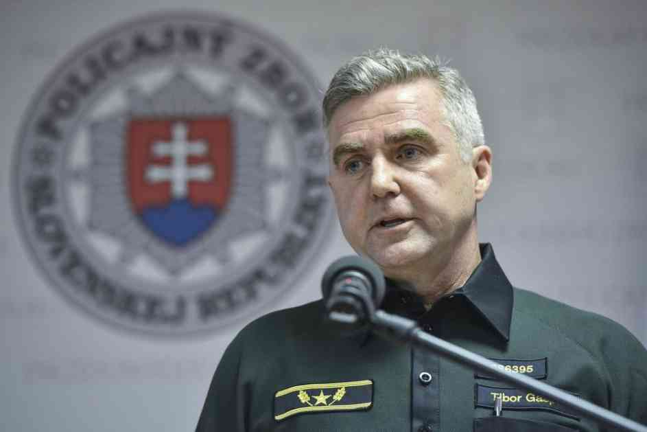 NEMA RAZLOGA DA ODE: Šef slovačke policije odbija da podnese ostavu zato što demonstranti to traže